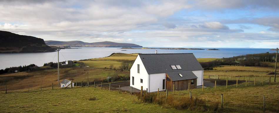 luxury self catering cottage isle of skye waternish broad reach rh broadreachskye co uk isle of skye cottages to rent isle of skye cottages for rent