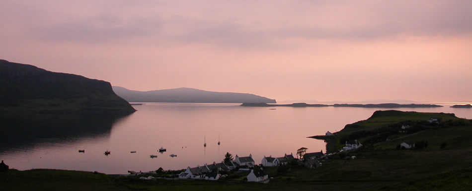 Broad Reach luxury self catering cottage Skye