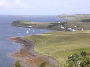Loch Bay near Broad Reach luxury self catering cottage skye